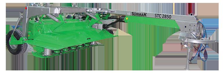 STC 2850 Çekilir Tip Diskli Sıkmalı Çayır Biçme Makinesi || Sürmak Tarım Makinaları