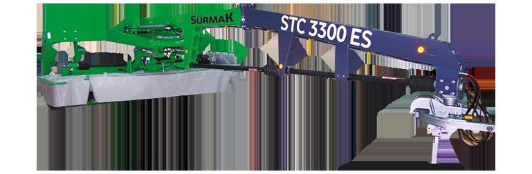 STC 3300 ES Çekilir Tip Diskli Sıkmalı Çayır Biçme Makinesi || Sürmak Tarım Makinaları