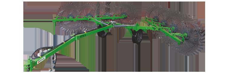 STH 8 Hidrolikli Çekilir Tip Ot Toplama Tırmığı    Sürmak Tarım Makinaları