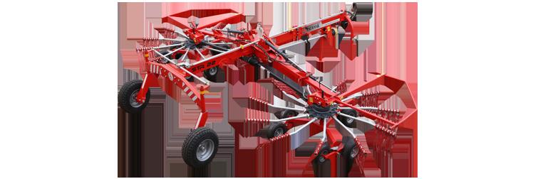 STR 22 Çift Rotorlu Ot Toplama Tırmığı || Sürmak Tarım Makinaları
