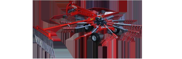 STR 11 Rotorlu Ot Toplama Tırmığı || Sürmak Tarım Makinaları