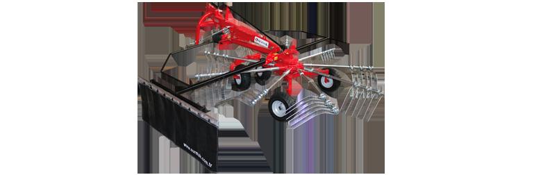 STR 9 Pro Rotorlu Ot Toplama Tırmığı || Sürmak Tarım Makinaları